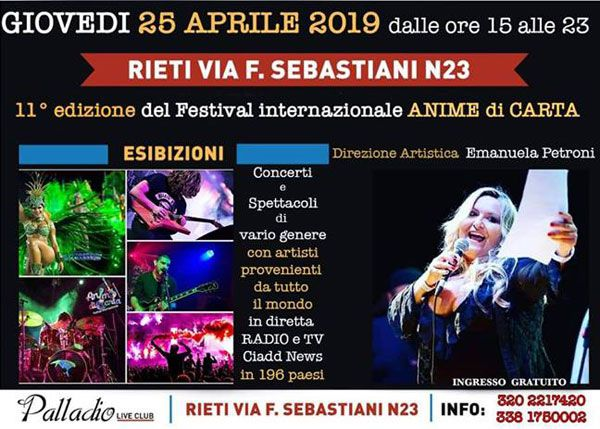 Prowlers live @ Palladio Club in Rieti on the 25th of April