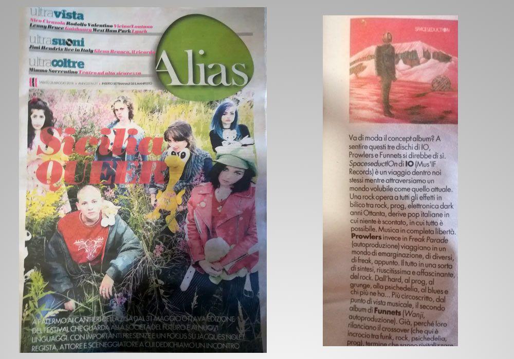 Articolo su Alias (Il Manifesto)