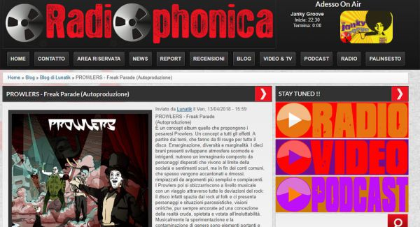 Review on Radiophonica