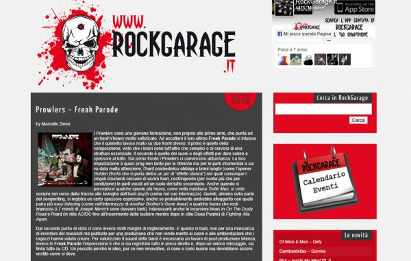 Review on RockGarage