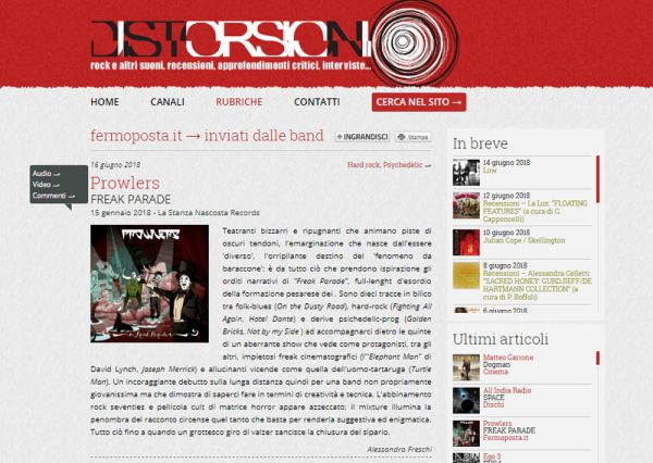 Review on Distorsioni.net