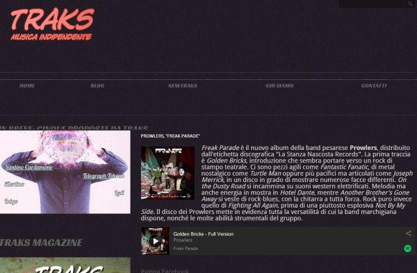 MusicTraks: Prowlers - Freak Parade